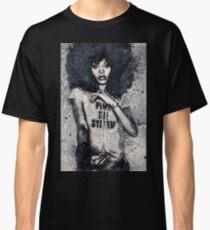 Erykah Badu Geometric Art Print Classic T-Shirt