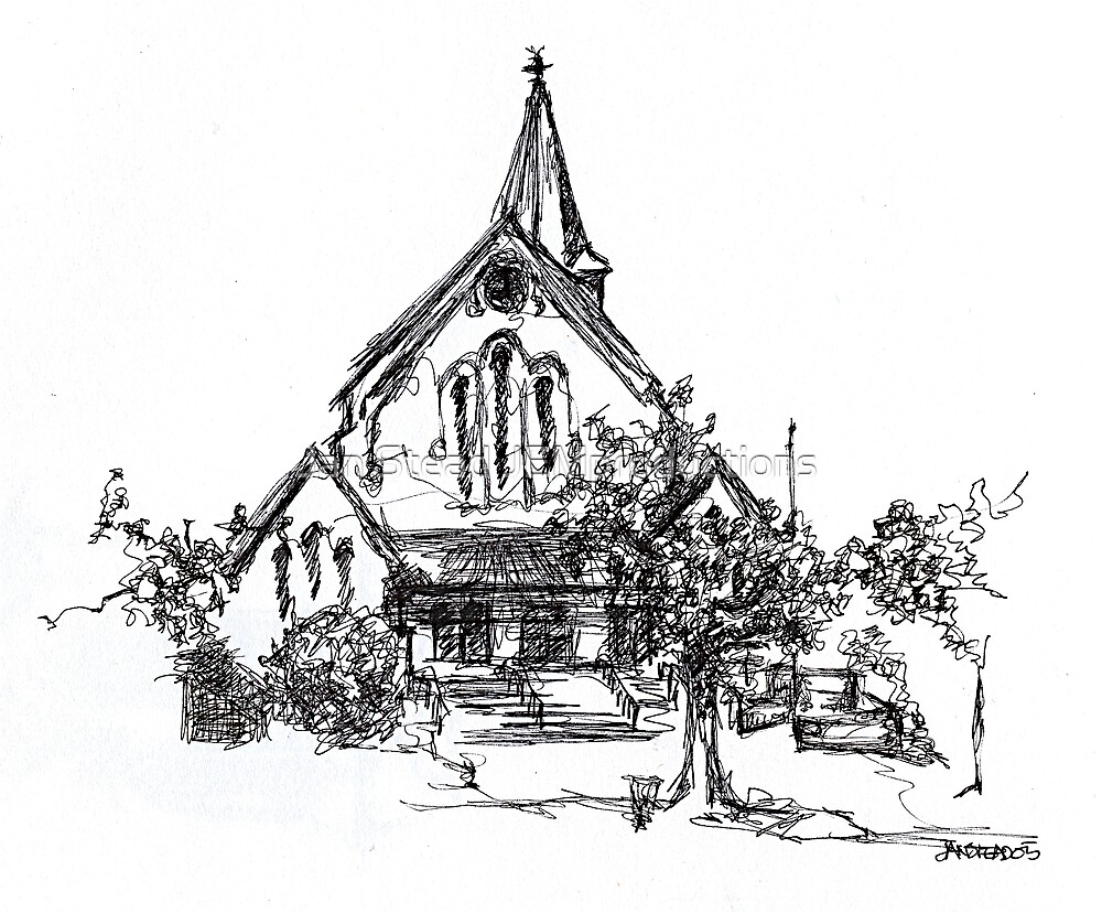 St John's Anglican Church, Wagga Wagga by Jan Stead JEMproductions
