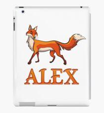 Alex Fox iPad Case/Skin
