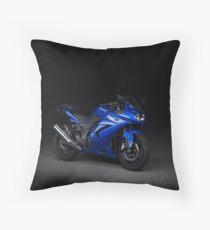 CarAndPhoto - Kawasaki Ninja  Throw Pillow