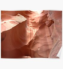 Canyon Curves Poster