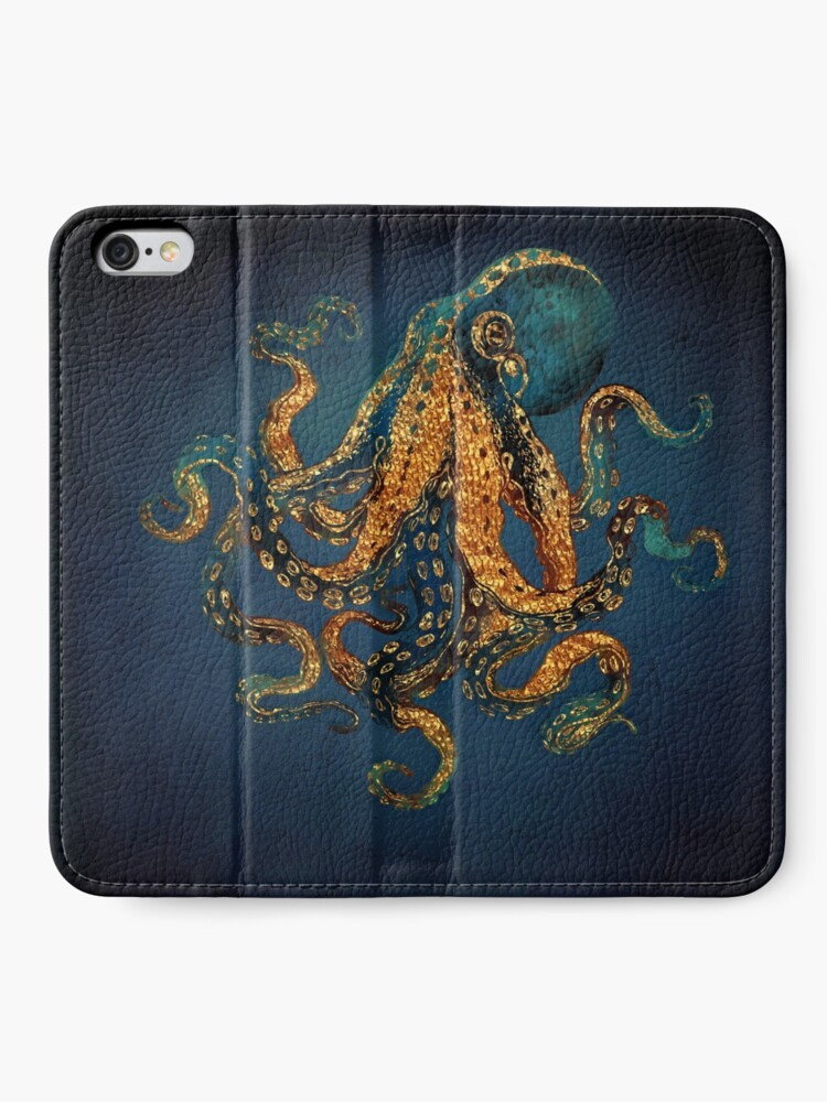 Alternate view of Underwater Dream IV iPhone Wallet