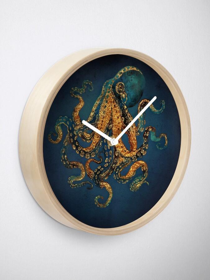 Alternate view of Underwater Dream IV Clock