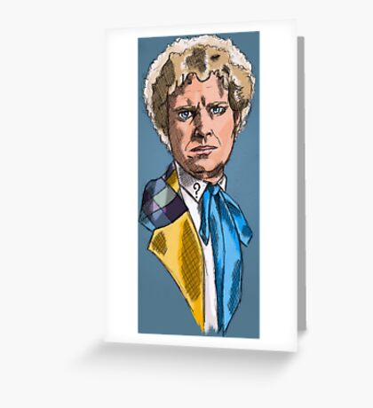 Sixth Lord of Time Greeting Card