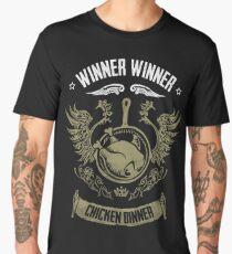 WINNER WINNER CHICKEN DINNER Men's Premium T-Shirt