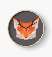 Triangle Fox Clock