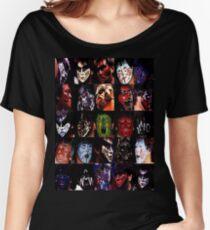 Camiseta ancha para mujer Grandes caras de Muta