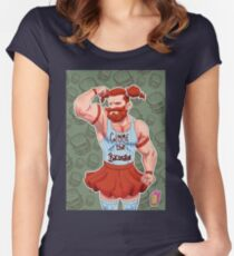 Bacon Daddy Women's Fitted Scoop T-Shirt