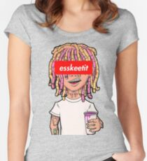 Lil Pump - High Quality Women's Fitted Scoop T-Shirt