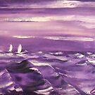Purple by Victor Grech