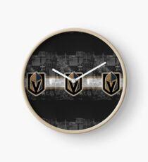 Vegas Golden Knights Skyline Clock