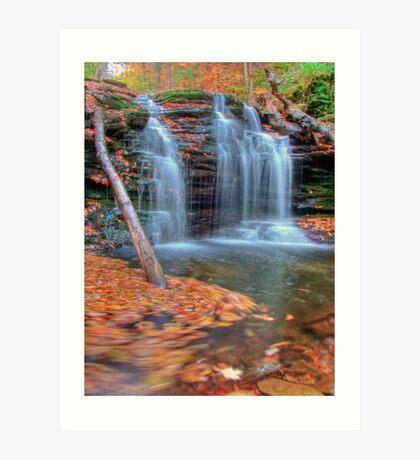 Wyandot Falls Art Print