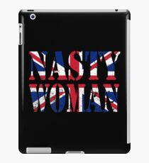 Nasty Woman UK Flag United Kingdom iPad Case/Skin