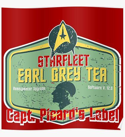 Earl Grey Tea: Posters | Redbubble Earl Grey Tea Picard