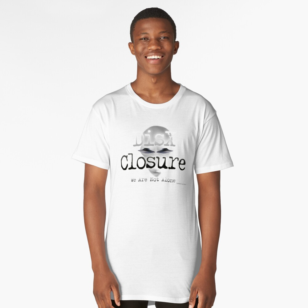 DisX Closure Long T-Shirt Front