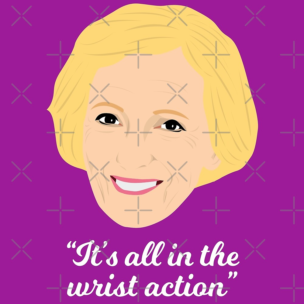 All in the Wrist Action! by gregs-celeb-art