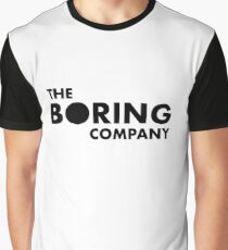 THE BORING COMPANY Graphic T-Shirt