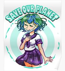 Save Our Earth-chan  Poster