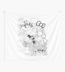 Plastic Heart Wall Tapestry