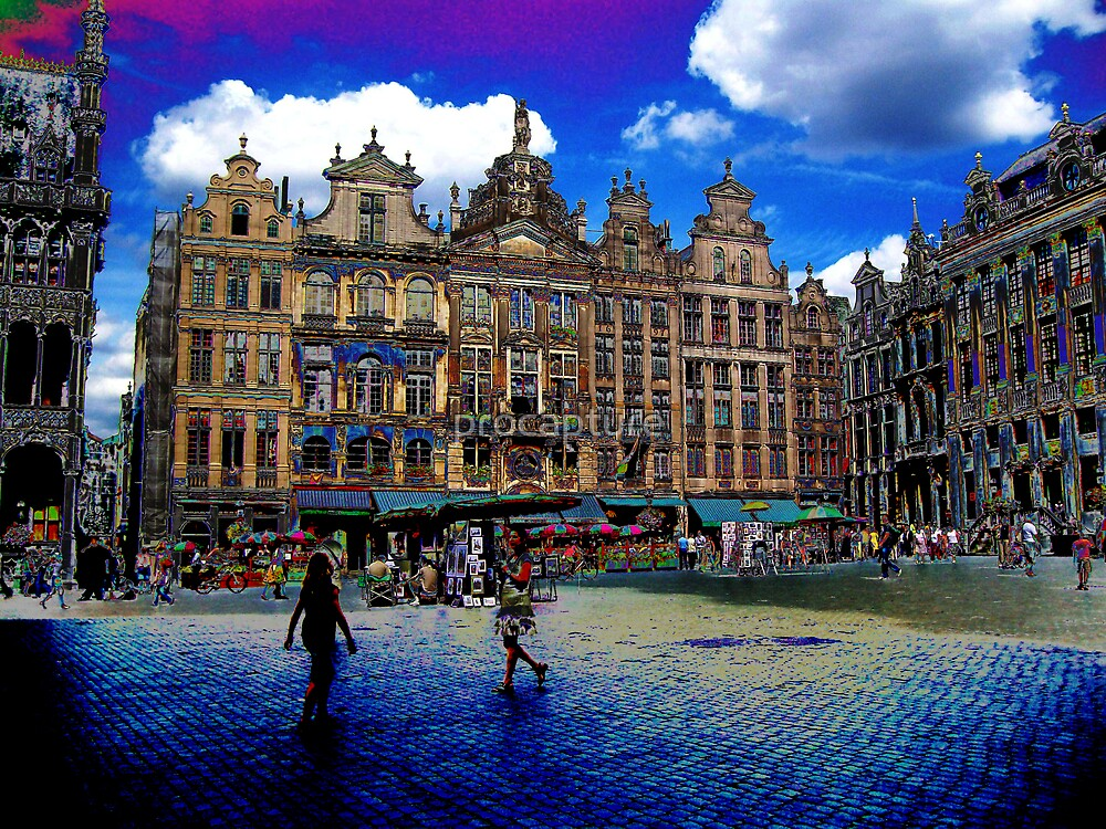 Brussels in colour by procapture
