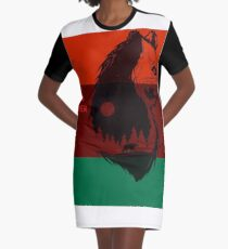Bear Flag Forever 2 Graphic T-Shirt Dress