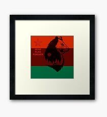 Bear Flag Forever 2 Framed Print
