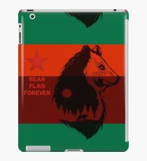Bear Flag Forever 2 iPad Case/Skin