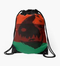 Bear Flag Forever 2 Drawstring Bag
