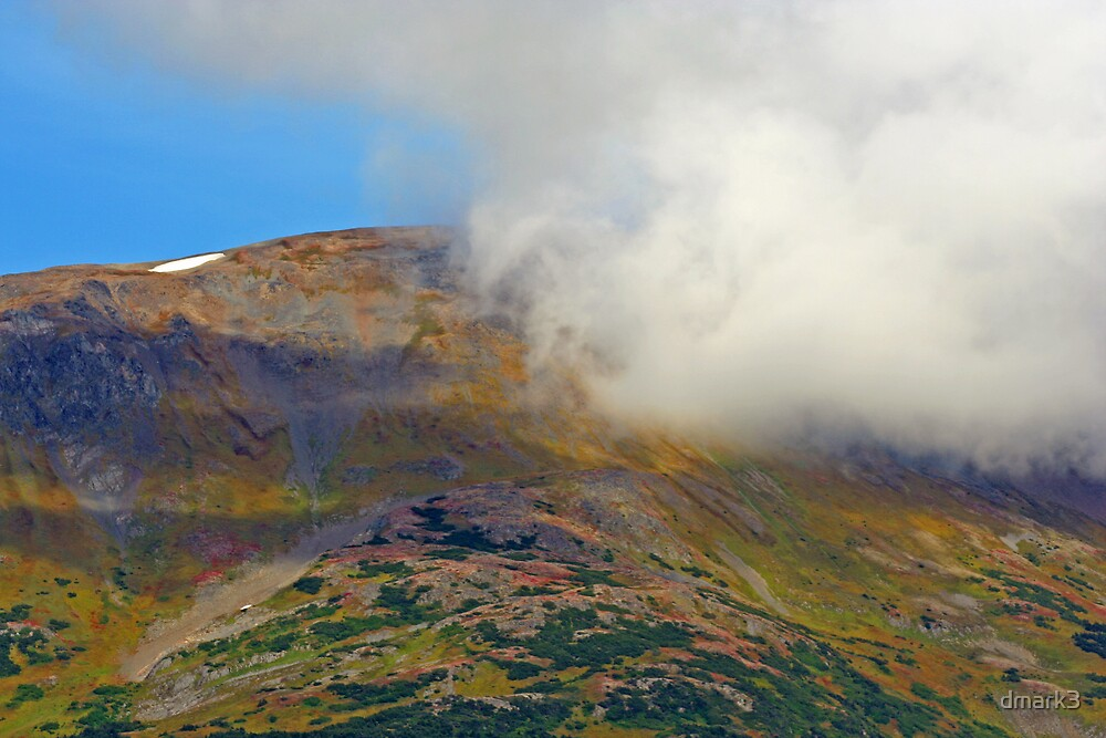 Cloud and Mountain by dmark3