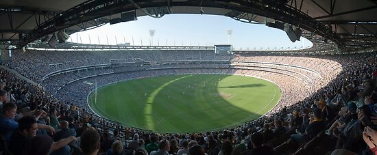 Quot Mcg Melbourne Cricket Ground Quot Posters By Michael