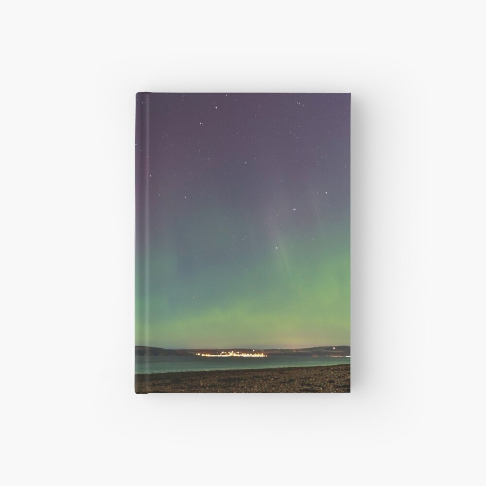 Nordlicht Notizbuch