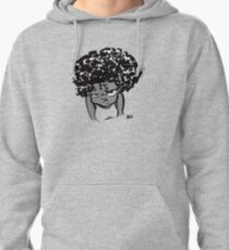Annoyed Little Girl Pullover Hoodie