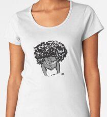 Annoyed Little Girl Women's Premium T-Shirt