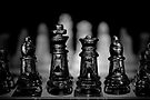 Chess 7: Watching the enemy lines by Lenka