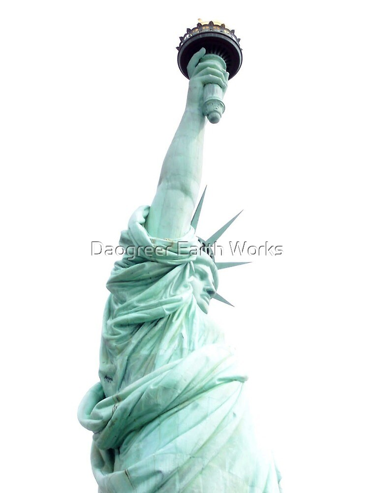 White Light of Liberty by Daogreer Earth Works