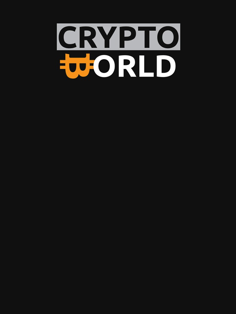 Crypto World t-shirt by CryptoworldFB