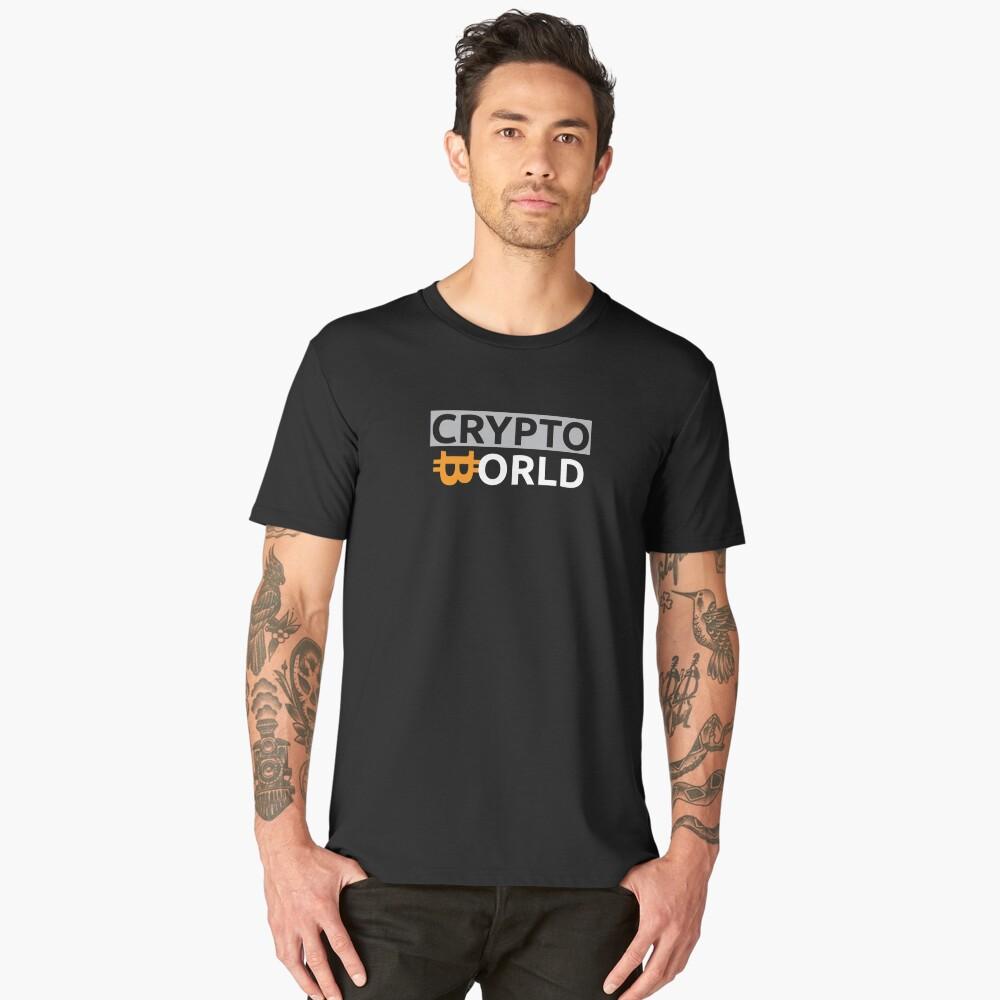 Crypto World t-shirt Men's Premium T-Shirt Front
