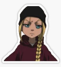 Cindy Boondock Sticker