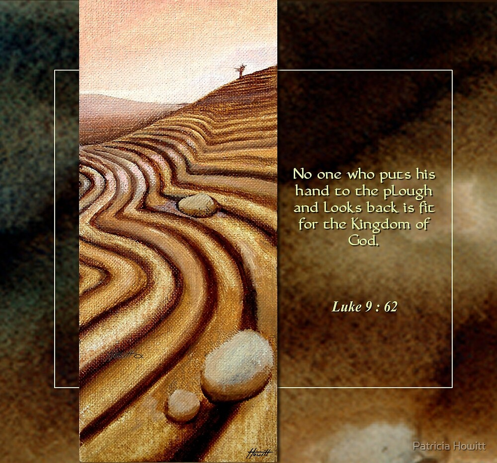 The Plough - Luke 9:62 by Patricia Howitt