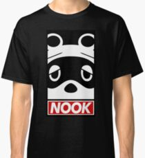 """""""OBEY"""" Tom Nook (Animal Crossing) Classic T-Shirt"""