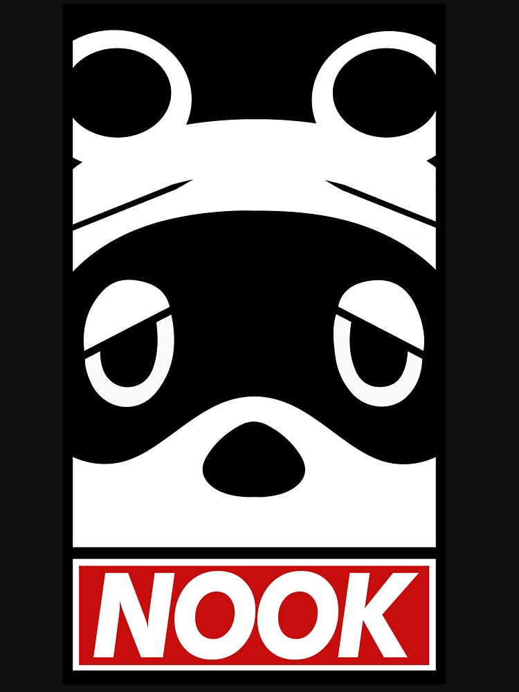 """""""OBEY"""" Tom Nook (Animal Crossing) by NotTooShauby"""