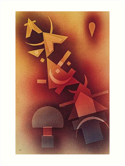 Wassily Kandinsky From Cold Depths 1928 by Gouldo