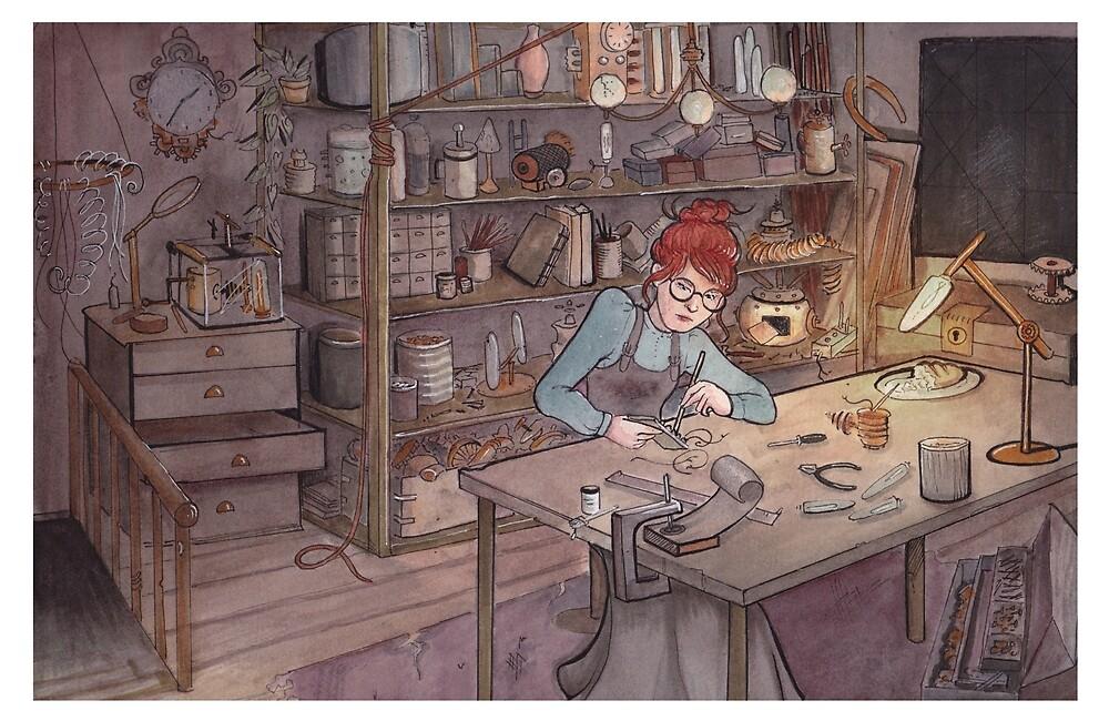Laynne's Workshop by Spellbound-Blue