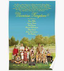Moonrise Königreich Filmplakat Poster