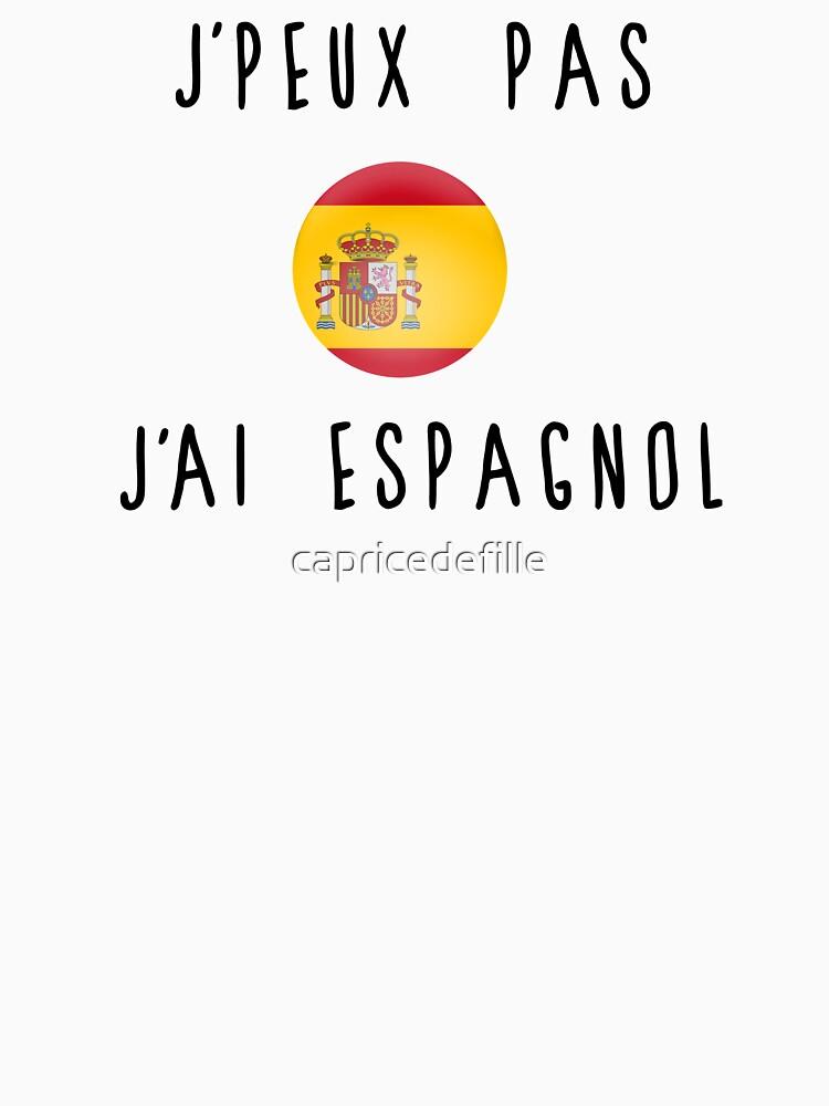 I can not speak Spanish by capricedefille