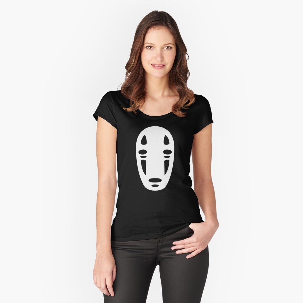 Faceless Women's Fitted Scoop T-Shirt Front