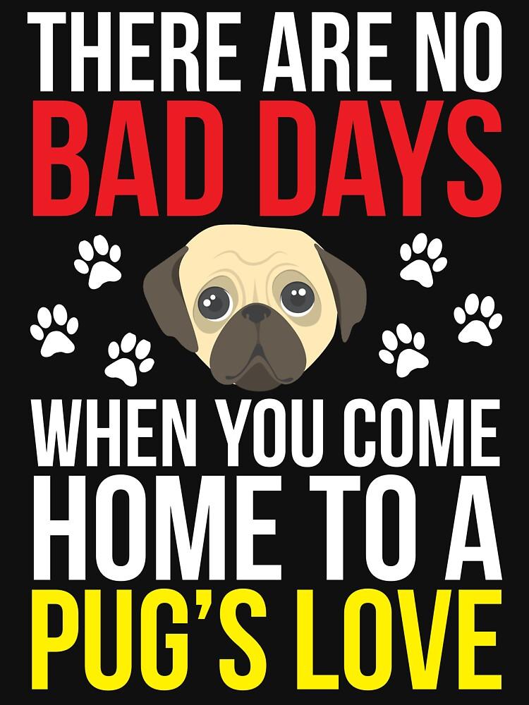 Pugs Love Cute Pug Owner T-shirt  by zcecmza