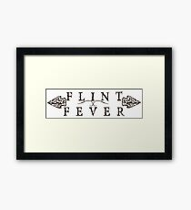 Flint Fever & Arrowheads  Framed Print