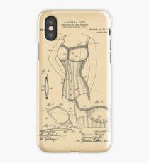 1909 Patent Corset iPhone Case