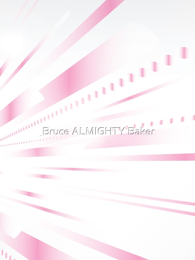 Pink Lines Abstract Art by BruceALMIGHTY